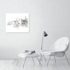 Keira_Rathbone_Richmond_Weir_and_footbridge_triptych_Limited_Edition_Print_room