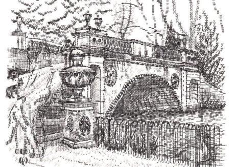 Keira_Rathbone_typewriter_art_Chiswick_House_Bridge_card