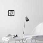 Keira_Rathbone_framed_record_redletters_blackframe_room_lowres