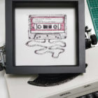 Keira_Rathbone_NOTHS_Cassette_Personalised_Print_black_frame3