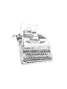 Keira Rathbone Typewriter Art