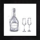 Keira_Rathbone_framed_champagne_black_letters_blackframe_lowres