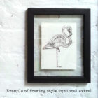 Keira_Rathbone_Kate_Atkinson_Flamingo2_black_frame_with_text