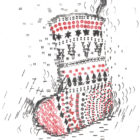 Keira_Rathbone_Typewriter_Art_Xmas_Stocking_CARD