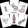 Keira_Rathbone_all6Xmas_Cards_web