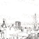Keira_Rathbone_typewriter_art_big_ben_london_eye_Original_PRINT_detail2