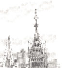 Keira_Rathbone_typewriter_art_big_ben_london_eye_Original_PRINT_detail3