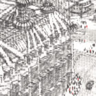 Keira_Rathbone_typewriter_art_big_ben_london_eye_Original_PRINT_detail6