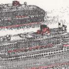 Keira_Rathbone_Original_Typewriter_art_3_Queens_Cunard_detail2