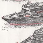 Keira_Rathbone_Original_Typewriter_art_3_Queens_Cunard_detail3