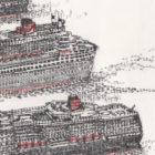 Keira_Rathbone_Original_Typewriter_art_3_Queens_Cunard_detail4