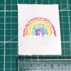 Keira_Rathbone_Typewriter_Art_2020_Type_of_Rainbow_Mini_Original_wed_ruler