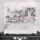 Keira_Rathbone_Typewriter_Art_Lockdown_Park_Stay_Home_Save_Lives_Original_intypewriter