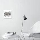 Keira_Rathbone_Typewriter_Art_Original_Barricaded_Bench_2_Face_it_300_PRINT_inaroom