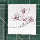 Keira_Rathbone_Typewriter_Art_Original_Cherry_Blossom_ruler