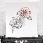 Keira_Rathbone_Typewriter_Art_Original_Chiswick_House_Camellia_2013_intypewriter