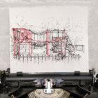 Keira_Rathbone_Typewriter_Art_Original_Lockdown_Playground_in_typewriter