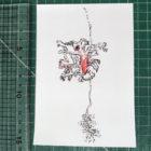 Keira_Rathbone_Typewriter_Art_Original_schizopetalus_Type_of_hibiscus_ruler