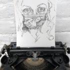 Keira_Rathbone_Typewriter_Art_Self_Typortrait_I_Protect_You_2020_photo