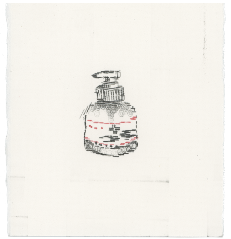 Types_Of_Hand_sanitiser_By_Keira_Rathbone_Typewriter_Art_Small_Pump_Action1_web