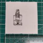 Types_Of_Hand_sanitiser_By_Keira_Rathbone_Typewriter_Art_Tiny_Pocket_Pump_Action