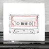 Keira_Rathbone_Original_Typewriter_art_Mix_Tape_in_typewriter