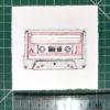 Keira_Rathbone_Original_Typewriter_art_Mix_Tape_ruler
