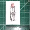 Keira_Rathbone_Original_Typewriter_art_Remember_Lipstick_ruler