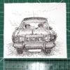 Keira_Rathbone_Original_Typewriter_art_Vintage_Type_of_Car_Cortina_ruler