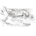 Keira_Rathbone_Typewriter_Art_Durdle_Door_Original_PRINT_web