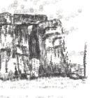 Keira_Rathbone_Typewriter_Art_Stonehenge_Original_PRINT_detail
