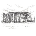 Keira_Rathbone_Typewriter_Art_Stonehenge_Original_PRINT_web
