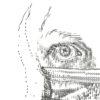Keira_Rathbone_Typewriter_Art_Self_Portrait_With_Mask_Sept_2020_PRINT_detail1