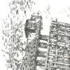 Keira_Rathbone_Typewriter_Art_Trellick_Tower_Original_PRINT_detail1